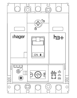 comptage intégré Hager