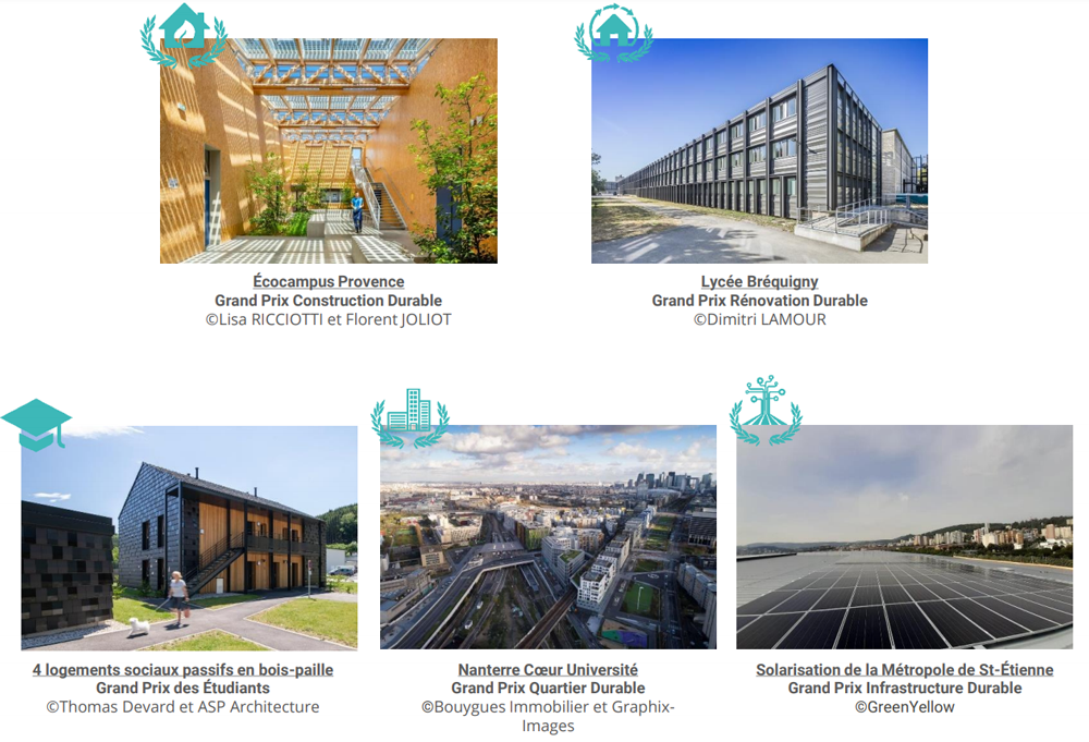projets Green solutions awards france