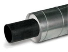 tube pré-isolé acier