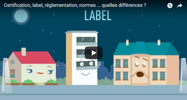 Vidéo Certification, label, réglementation, normes