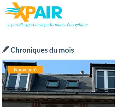 Xpair portail expert de la performance énergétique