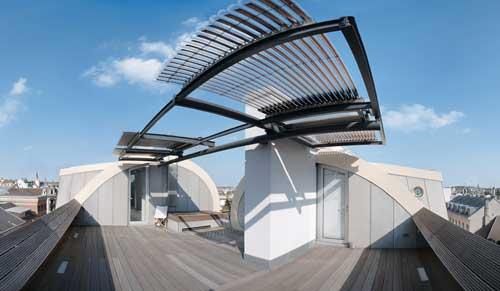 capteur solaire sur toit viessmann