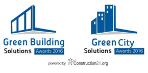 Logo Green Building & City Solutions Awards 2016