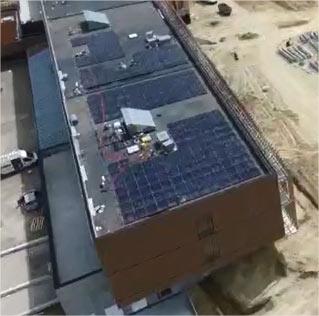 Panneaux photovoltaïques en toiture