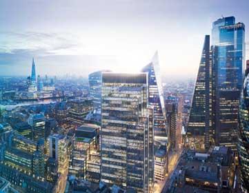 Smart building London