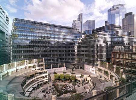 Smart building Londres