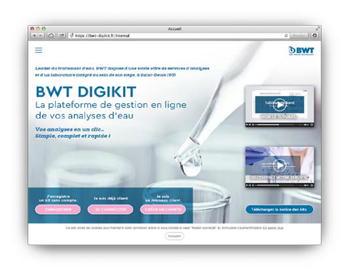 Compte BWT DIGIKIT