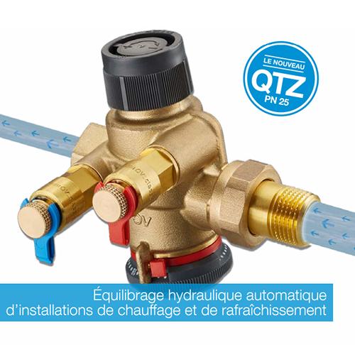 cocon QTZ oventrop robinet