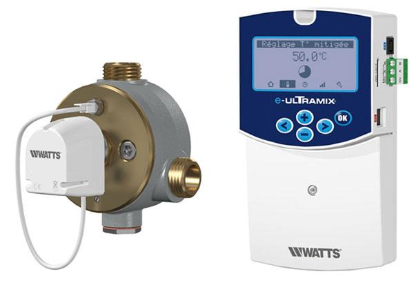 Mitigeurs Thermostatiques e-ultramix