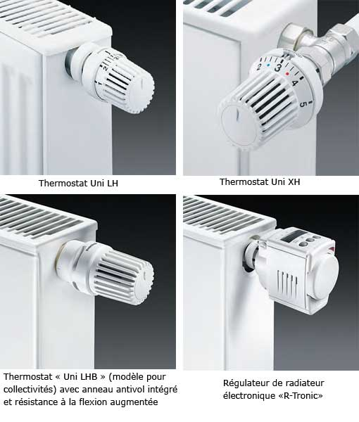rgulateur lectronique oventrop - Radiateur Avec Robinet Thermostatique