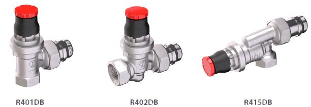 robinets thermostatisables Giacomini