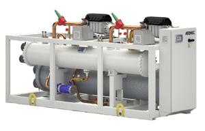 WTX groupe eau glacée condensation Aermec