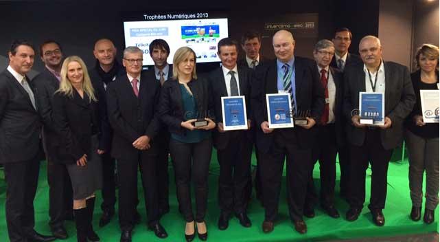 Gagnants Trophées 2013