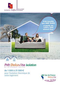 pret isolation banque solfea
