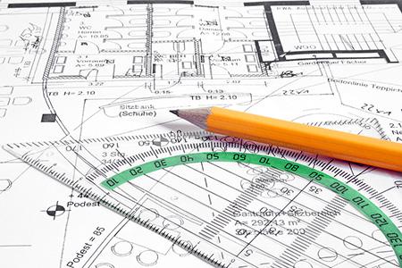 projeteur CVC réalisant des plans