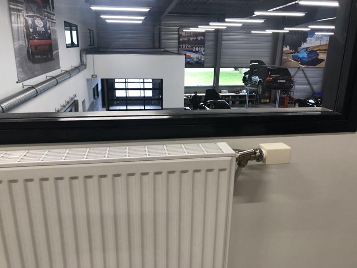 radiateur moteur vanne Thermozyklus chauffage