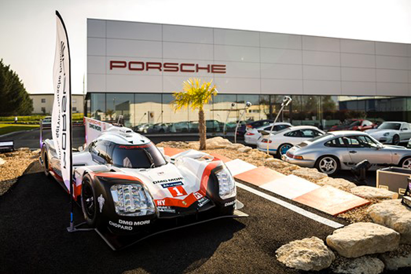 Porsche Poitiers Thermozyklus