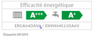 Daikin Altherma efficacité