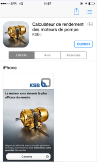 Calculateur de rendement KSB SuPremE