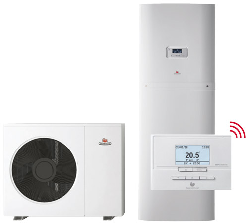 Pompe à chaleur ultra-silencieuse GeniaSet