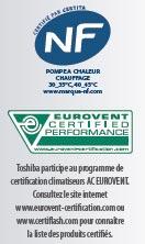Logo NF et Eurovent