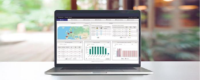 AC Smart Cloud données Panasonic PACi