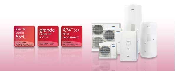 avantages pompe à chaleur aquarea