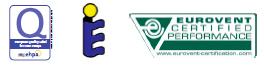 certifications de la pompe à chaleur air-eau split THERMA V