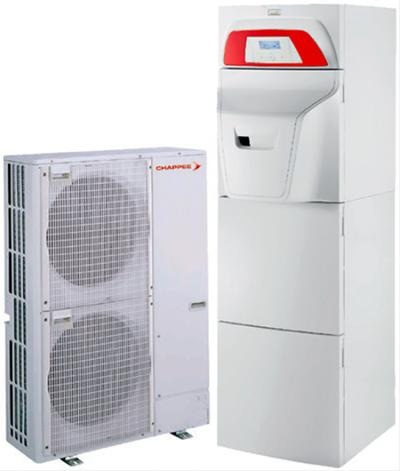 nolea evo hybride pompe chaleur