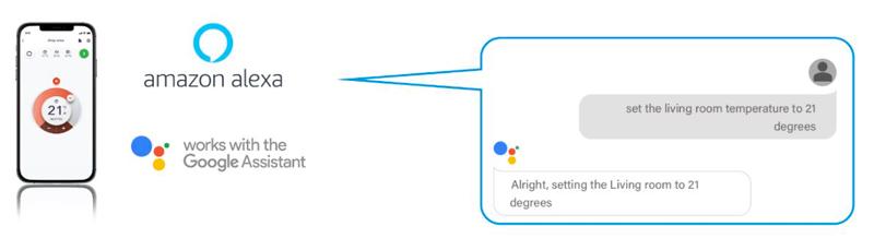 commande vocale Daikin Amazon Google