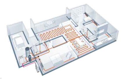 Pompe chaleur air eau estia solution bbc - Pompe a chaleur maison ...