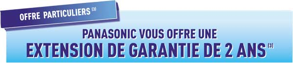 offre particuliers panasonic
