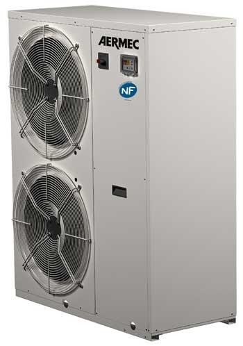 Pompes chaleur ank d aermec certifi es nf for Pompe a chaleur air eau