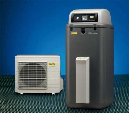 pompe à chaleur HPSU Compact Rotex
