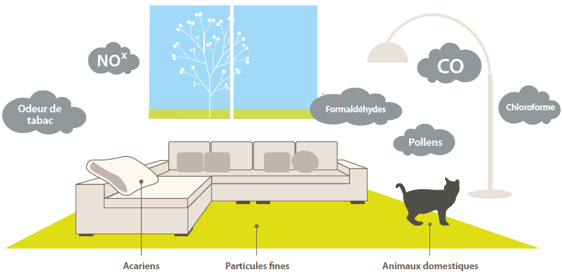 Polluants intérieurs