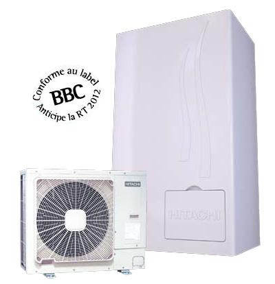 pompes chaleur air eau bi bloc hautes performances yutaki s. Black Bedroom Furniture Sets. Home Design Ideas