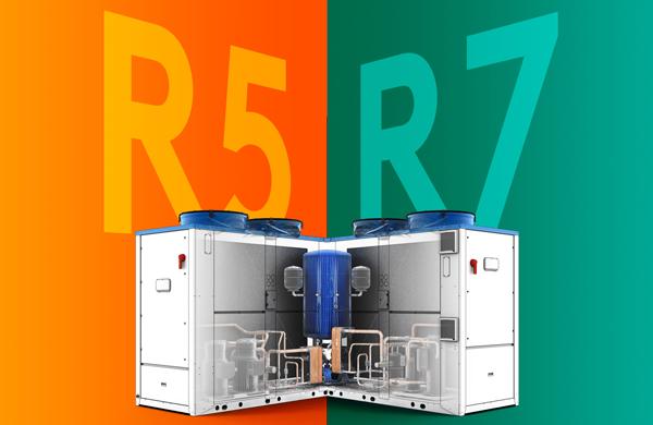 R5 R7 pompe chaleur Swegon