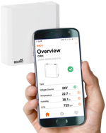 ECO CO2 application NFC Belimo