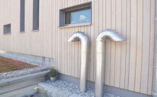 installation compacte haut de gamme avec mesure du CO2