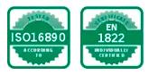 Normes ISO épurateur