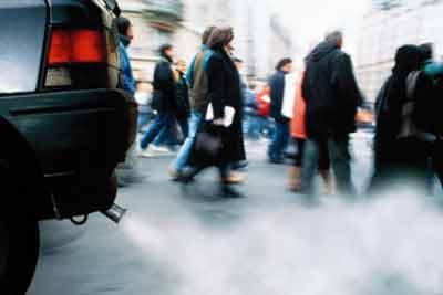 Pollution gaz d'échappement
