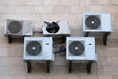 vieux climatiseurs