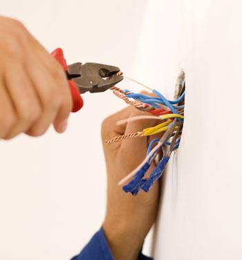 Etanchéité sortie de câbles électriques