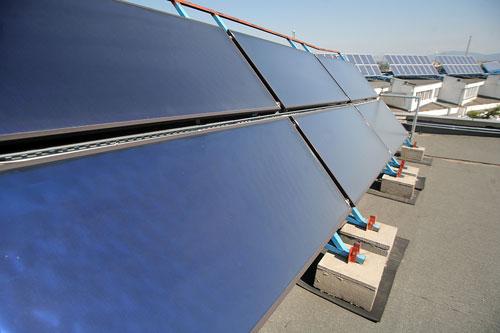 immeuble certifié avec solaire collectif en toiture