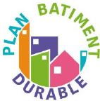logo plan batiment durable