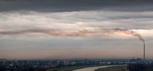 Environnement pollué en Roumanie