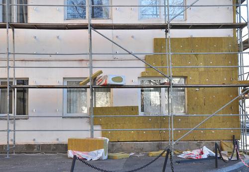 Panneaux photovoltaïques sur immeuble