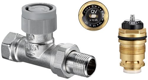 Gamme q tech quilibrage hydraulique des radiateurs - Reglage robinet thermostatique radiateur ...