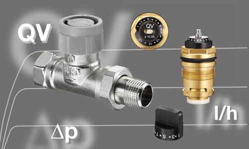 Equilibrage hydraulique automatique par la «technique QV»