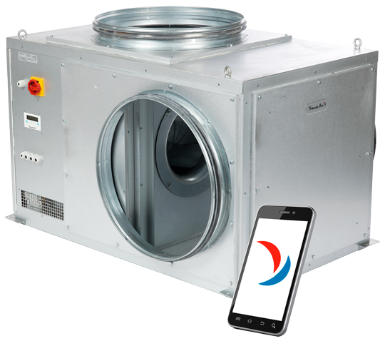 Nouveau caisson VMC C4 Sirius® X ultra basse consommation